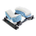 spine frame patient positioning equipment with comfort covers